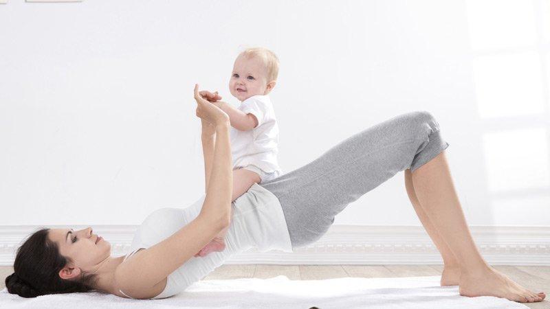 Se remettre au sport quand on a eu un bébé