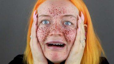 Des fausses taches de rousseur au henné